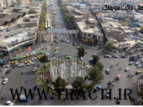 پخش تراکت در سوهانک تهران